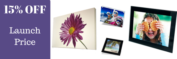 Adventa display photography and print products