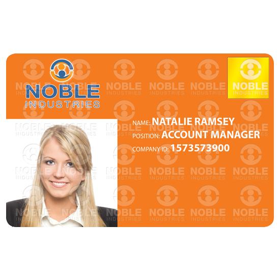 Holokote own logo id card