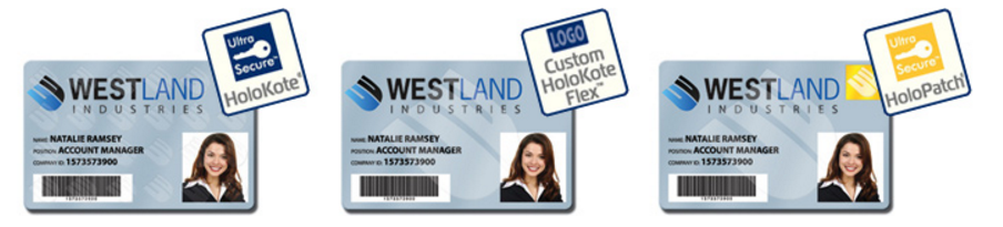 ID Cards with Holokote security - FM Ireland